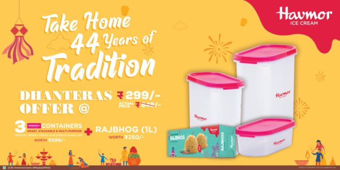 Double your celebration this Diwali with Havmor' s exciting offers