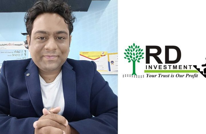 Leading Investment & Mutual Funds Distribution Company RD Investment bags Times Icons of Surat 2020-21