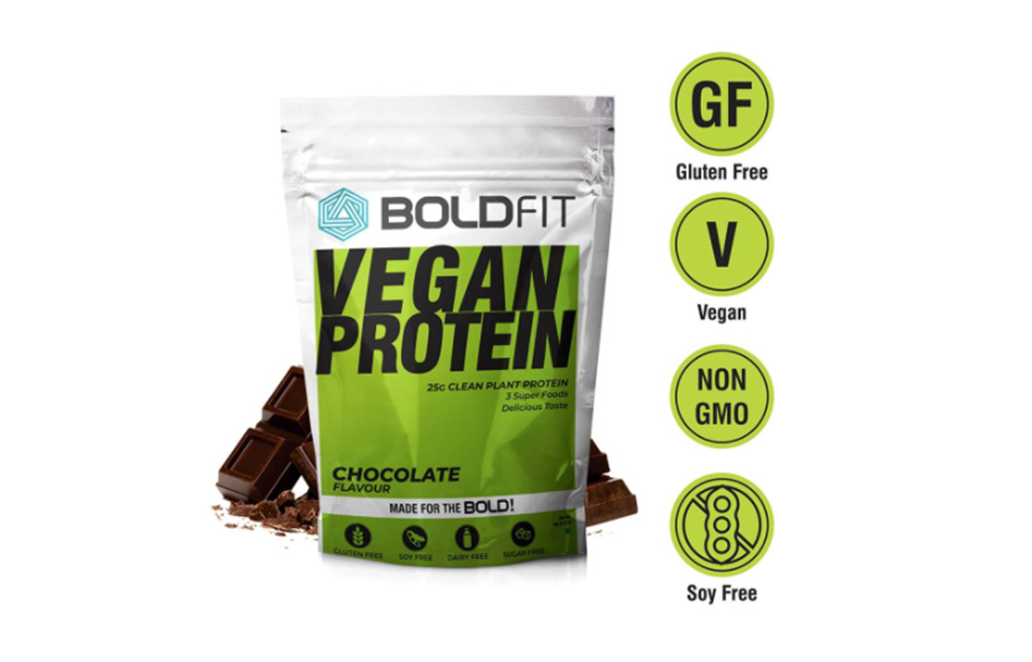 The Perfect Protein Powerhouse for Vegetarians ft. Boldfit Vegan Plant Protein